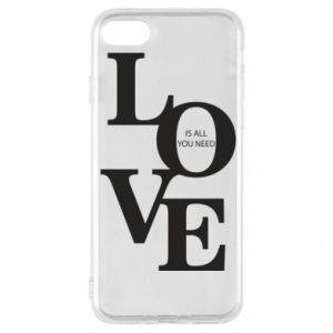 Etui na iPhone 8 Love is all you need