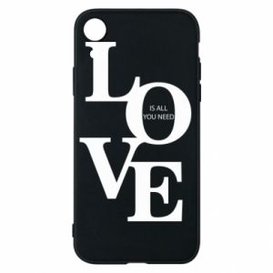 Etui na iPhone XR Love is all you need