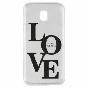 Etui na Samsung J3 2017 Love is all you need