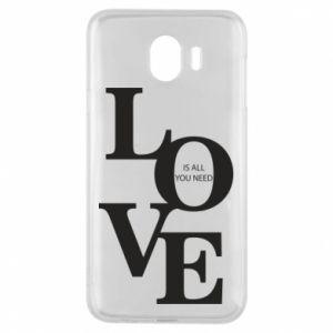 Etui na Samsung J4 Love is all you need