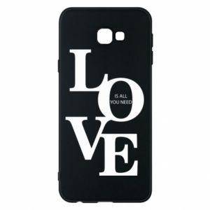 Etui na Samsung J4 Plus 2018 Love is all you need