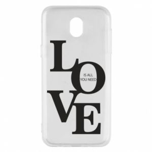 Etui na Samsung J5 2017 Love is all you need