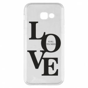 Etui na Samsung A5 2017 Love is all you need