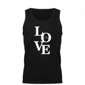 Męska koszulka Love is all you need