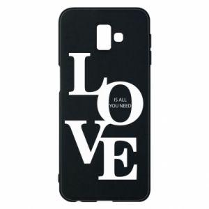 Etui na Samsung J6 Plus 2018 Love is all you need
