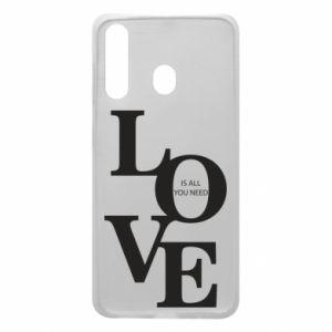 Etui na Samsung A60 Love is all you need