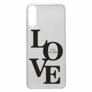 Etui na Samsung A70 Love is all you need