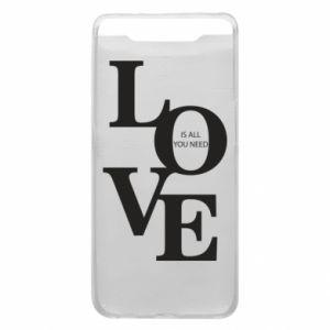 Etui na Samsung A80 Love is all you need