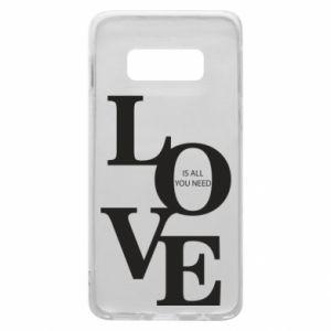 Etui na Samsung S10e Love is all you need