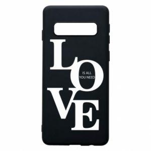 Etui na Samsung S10 Love is all you need