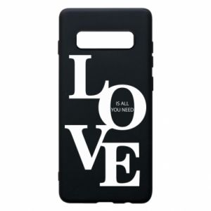 Etui na Samsung S10+ Love is all you need