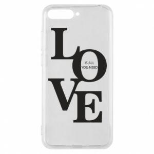 Etui na Huawei Y6 2018 Love is all you need