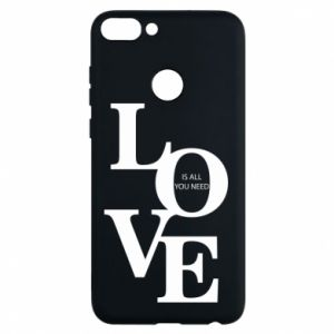 Etui na Huawei P Smart Love is all you need