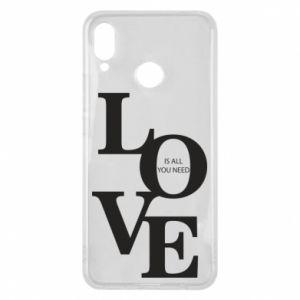 Etui na Huawei P Smart Plus Love is all you need