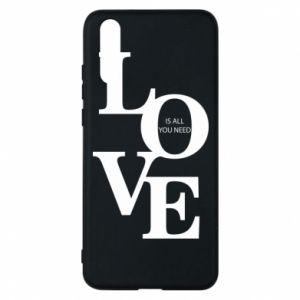 Etui na Huawei P20 Love is all you need