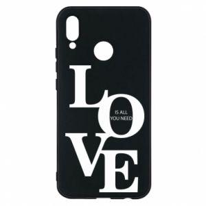 Etui na Huawei P20 Lite Love is all you need