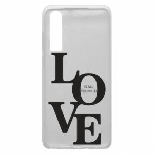 Etui na Huawei P30 Love is all you need