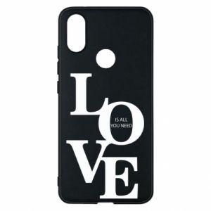 Etui na Xiaomi Mi A2 Love is all you need