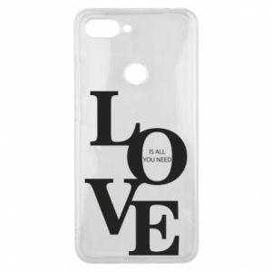 Etui na Xiaomi Mi8 Lite Love is all you need
