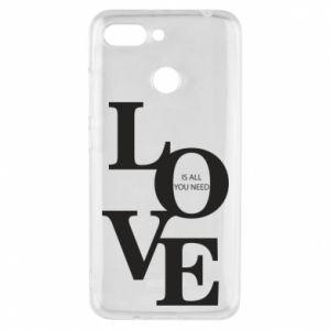 Etui na Xiaomi Redmi 6 Love is all you need