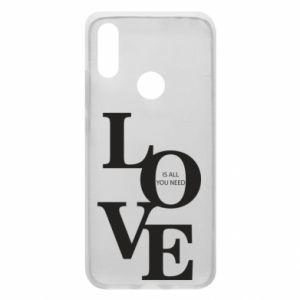 Etui na Xiaomi Redmi 7 Love is all you need