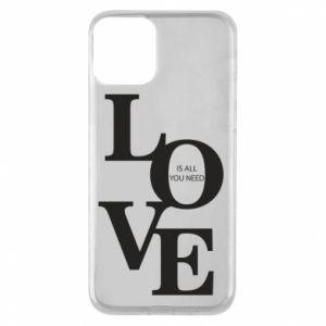 Etui na iPhone 11 Love is all you need