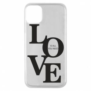 Etui na iPhone 11 Pro Love is all you need