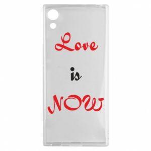 Etui na Sony Xperia XA1 Love is now