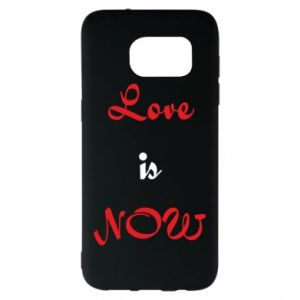 Etui na Samsung S7 EDGE Love is now