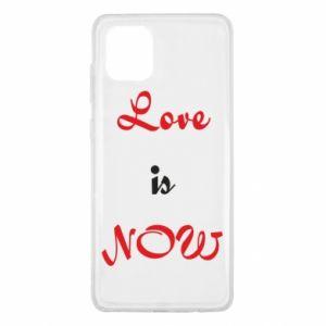 Etui na Samsung Note 10 Lite Love is now