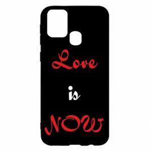 Etui na Samsung M31 Love is now