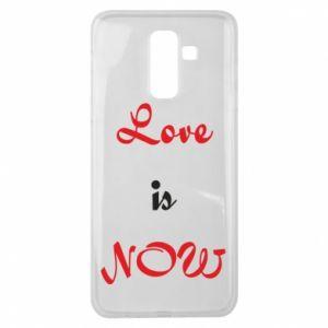 Etui na Samsung J8 2018 Love is now