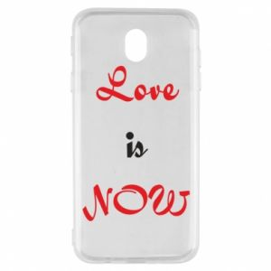 Etui na Samsung J7 2017 Love is now