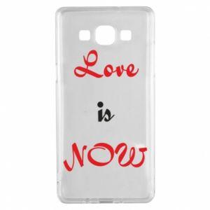 Etui na Samsung A5 2015 Love is now