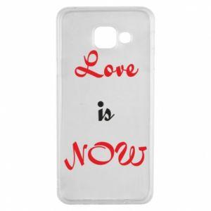 Etui na Samsung A3 2016 Love is now