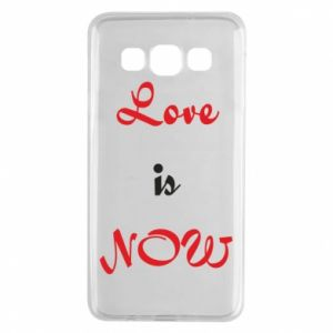 Etui na Samsung A3 2015 Love is now