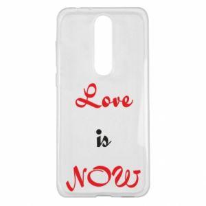Etui na Nokia 5.1 Plus Love is now