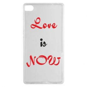 Etui na Huawei P8 Love is now