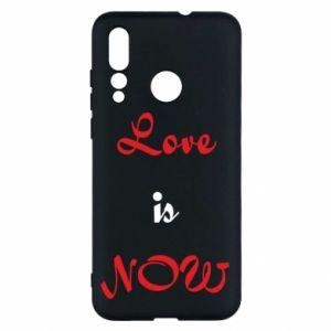 Etui na Huawei Nova 4 Love is now
