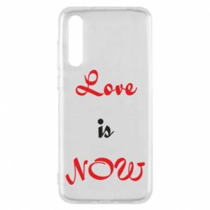 Etui na Huawei P20 Pro Love is now
