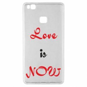 Etui na Huawei P9 Lite Love is now