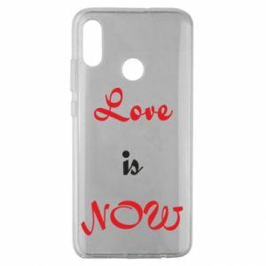 Etui na Huawei Honor 10 Lite Love is now