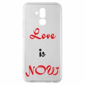 Etui na Huawei Mate 20 Lite Love is now