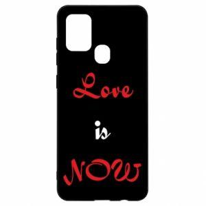 Etui na Samsung A21s Love is now