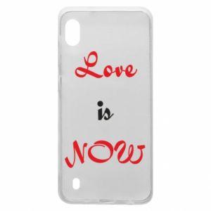 Etui na Samsung A10 Love is now