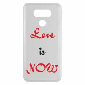 Etui na LG G6 Love is now
