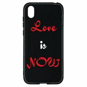 Etui na Huawei Y5 2019 Love is now