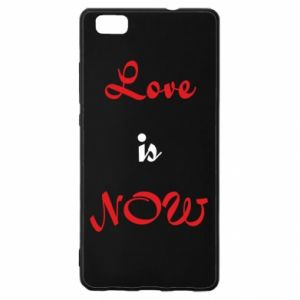 Etui na Huawei P 8 Lite Love is now