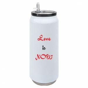 Puszka termiczna Love is now