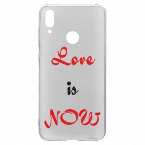 Etui na Huawei Y7 2019 Love is now